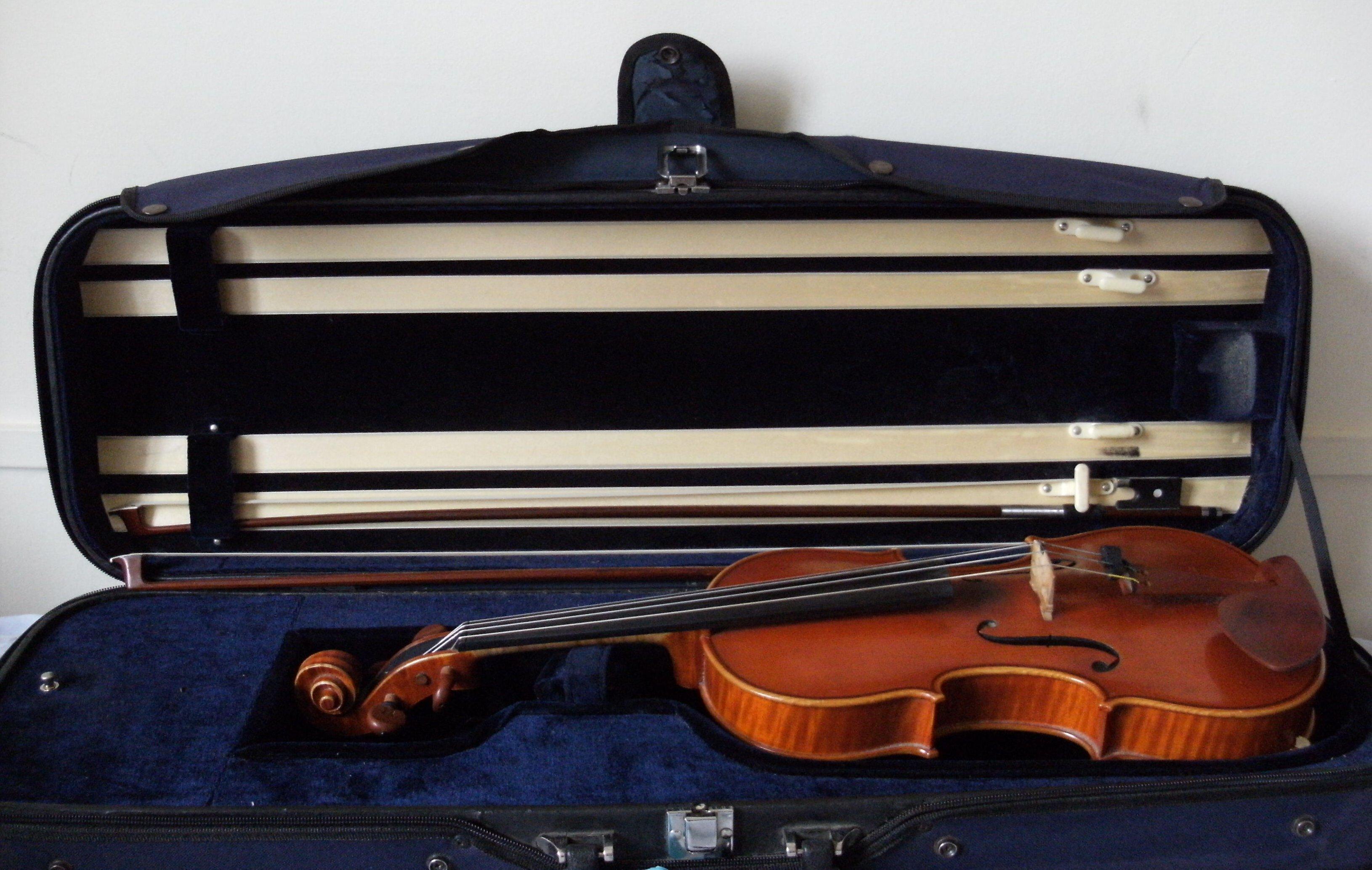 Martin Ash's violin