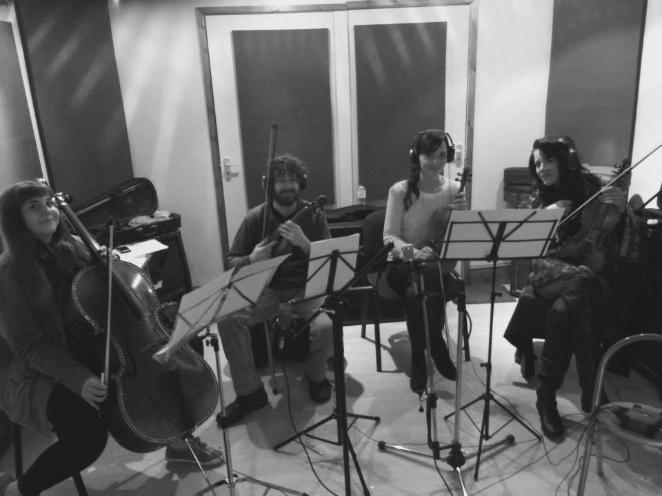 Tai Azeez strings recording